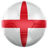 English soccer ball Royalty Free Stock Images