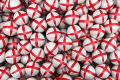 English  Soccer balls Stock Photography
