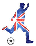 English soccer player Stock Photography