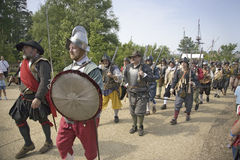 English soldiers Stock Image