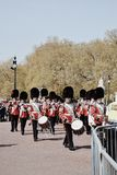 English soldiers royalty free stock photography