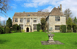 An English Stateley Home and garden Royalty Free Stock Photography