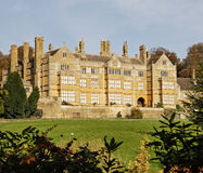 English Stately Home. An English Stately Home and Grounds royalty free stock image
