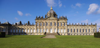 English Stately Home Stock Photography