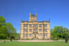 English Stately Home. Gawthorpe Hall an Elizabethan country house in Lancashire, England Stock Photography