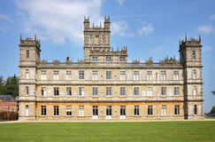 An English Stately Home. Highclere Castle, an English Stately Home in Hampshire, UK Stock Photos