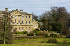 An English Stately Home. Howick Hall,  Northumberland, Home Of Earl Grey Royalty Free Stock Image