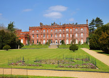 An English Stately Home and Garden Stock Image