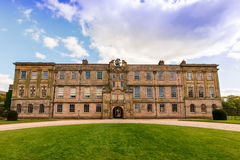 English Stately Home. Lyme Hall historic English Stately Home and park in Cheshire, England Stock Image