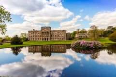 English Stately Home. Lyme Hall historic English Stately Home and park in Cheshire, England Royalty Free Stock Photography