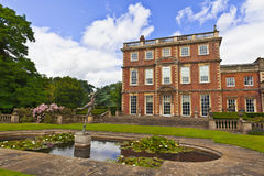 English stately home. Newby Hall in Yorkshire, England Royalty Free Stock Photo