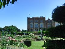 Stately Home. English Stately Home royalty free stock image
