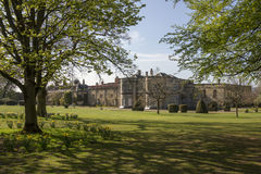 English Stately Home - Yorkshire - England. An English stately home. North Yorkshire in the United Kingdom Royalty Free Stock Photography