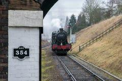 English steam train Stock Photos