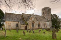 English stone church Royalty Free Stock Image