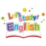 English study Stock Image