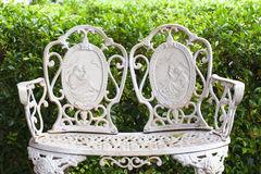English style chair in graden Stock Photography
