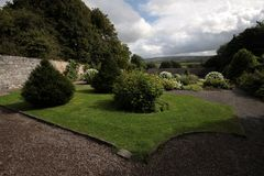 English style garden Stock Image