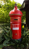 English style pillar box in Melbourne Royalty Free Stock Photo