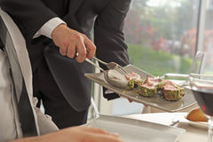 English-style serving Stock Photo