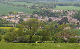 An English Summer Landscape in the Cotswolds Stock Photos