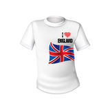 English t-shirt design Stock Photography