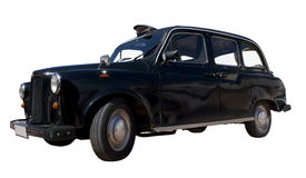 English Taxi Royalty Free Stock Images