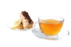 English tea and cakes Stock Photos