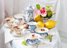 English tea ceremony Stock Photo