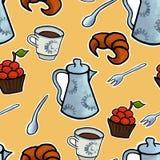 English tea ceremony vector Stock Photography