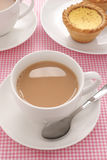 English Tea with milk Stock Photography