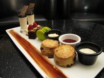 English tea pastries Stock Photo