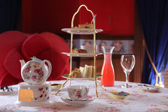 English Tea Time. ,conventions and formal Royalty Free Stock Photography
