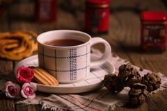 English tea time. Royalty Free Stock Photo