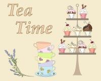 English tea time Royalty Free Stock Photography