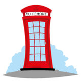 English Telephone Stock Image