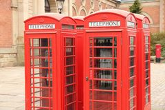 English telephone Stock Photo