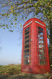 English telephone booth Stock Photography