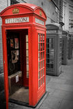 English telephone booth Stock Image