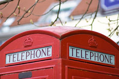 English telephonea Stock Photos