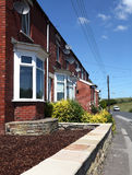 English Terraced Houses Stock Photography