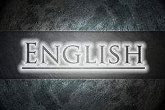 English text on background Stock Photos