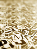 English Texts Royalty Free Stock Photos