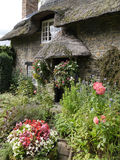 English thatched cottage Royalty Free Stock Photo