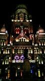 English translation- Greater Mumbai Municipal Corporation, Building made by British royalty free stock photos