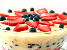 English Trifle Stock Photos