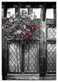 English Tudor houses Royalty Free Stock Images