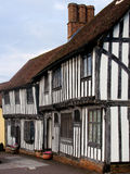 English Tudor houses Royalty Free Stock Photography