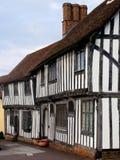 English Tudor houses Royalty Free Stock Photography