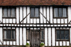 English Tudor houses Stock Photography